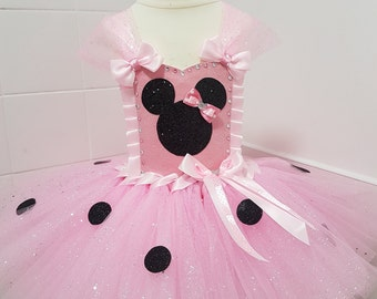 Mouse inspired  tutu dress dress up