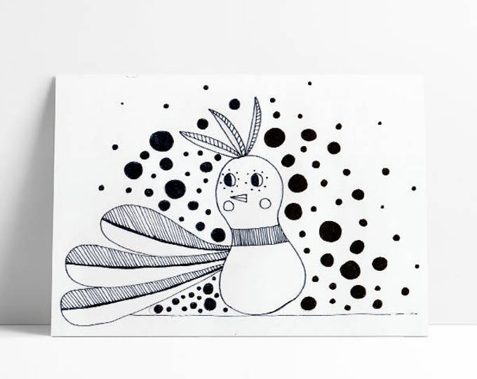Birdy…limited edition a4 print