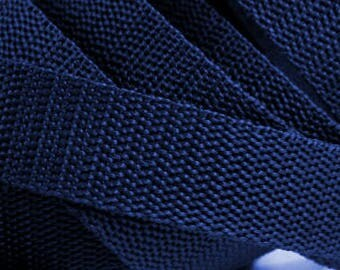 3 m belt bag belt 30 mm in dark blue