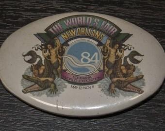 1984 Worlds Fair, New Orleans pin