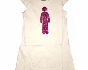 Princess Leia Dress-Star Wars Dress-Girls Princess Leia Shirt-Girls Star Wars Shirt
