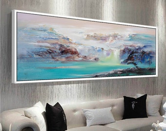 Abstract Oil Painting, Contemporary Art, Hand Paint Large Art, Extra Large  Wall Art
