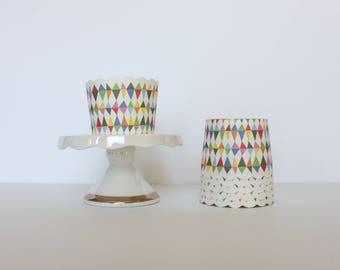 Carnival Rainbow Treat Cups / Carnival Treat Cups / Treat Cups / Baking Cups / Rainbow / Carnival Party