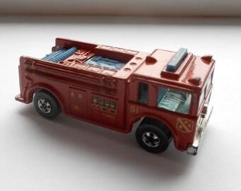 Fire Engine - Hot Wheels Fire-Eater - 1982