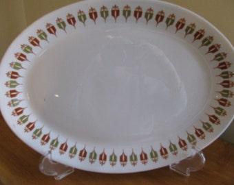 "Syracuse China Syralite Platter ""Captain's Table"""