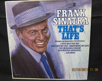 Frank Sinatra That's Life - Reprise Records Mono
