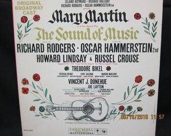Original Broadway Cast The Sound of Music - Mary Martin - Columbia Masterworks