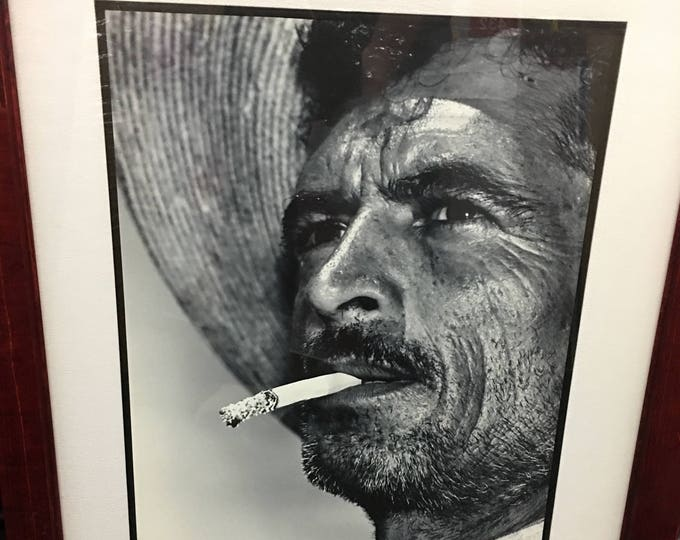 Enrique Segarra Lopez, Mexico City Photographer, Vintage Gelatin Silver Print, Cowboy