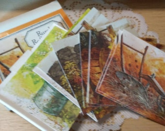 2 Vintage boxes of Notecards and Envelopes