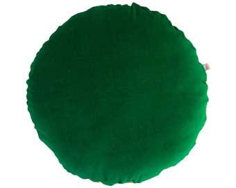 Green Velvet Pillows Etsy