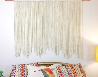 Wall Hanging / Boho Wall Hanging / Tapestry / Fiber Wall Hanging / Fiber Art / Large Wall Hanging / Wall Decor / Fiber Decor