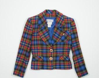 YVES SAINT LAURENT - wool blazer