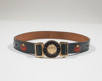 LES COPAINS - leather belt
