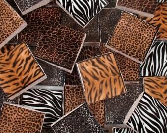 Animal Print Mosaic Etsy