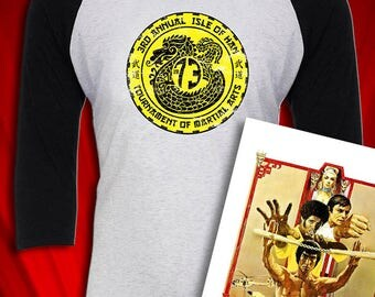 Han's Tournament of Martial Arts Enter the Dragon Inspired tee