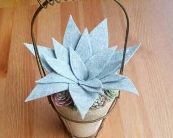 Felt Succulent Pot