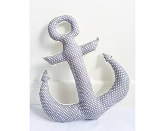 Anchor cushion, nursery cushion, personalized, gift for kids, gift for newborns, housewarming gift, home decor, nursery decor, bedroom decor