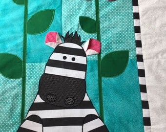 Zebra Baby Quilt