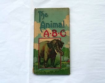 Antique Child's Book The Animal ABC Charles Graham & Co.