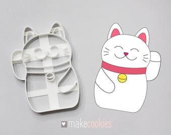 Maneki Neko #2 Cookie Cutter