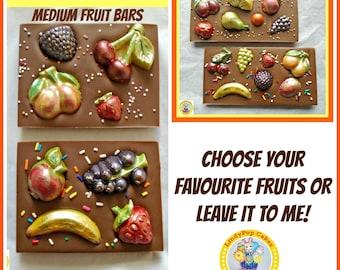 Fruit Chocolate Gift/Fruit Lover/Get Well/In Hospital/Female/Male/Women/Men/Fruit Garden/Birthday Gift/Family Gift/Anniversary Couple/Mum
