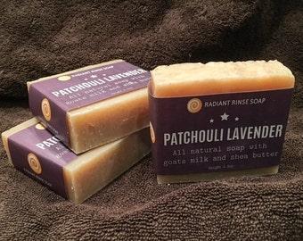 Patchouli Lavender Handmade Soap