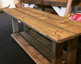 Hall bench or coffee table