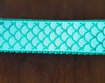 Mermaid scales key chain