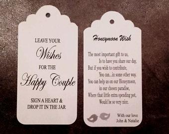Wedding Jar Tag