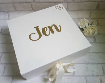 LARGE Bridesmaid Gift Box, Bridesmaid Box, Maid of Honour Gift,  Bride to be Gift Box, Bridesmaid Proposal, Maid of Honour Proposal, Bride