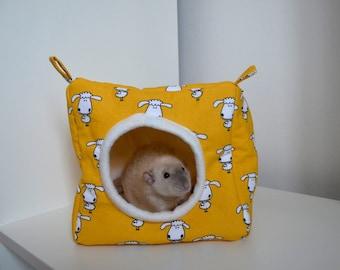 Cube/hammock for small pets (rats, guinea pig, ferret, ...)
