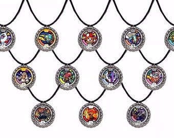12x Yo-Kai Watch Party Favor Necklaces