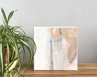 SLANT.. abstract art, abstract painting, art, canvas art, contemporary art, painting, neutral painting, small painting,wall art, malorymaki