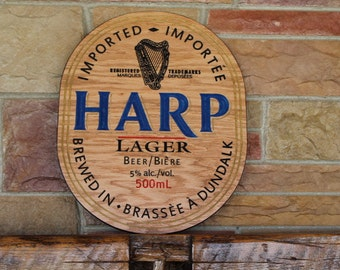 Beer Wall Art, Bar Signs and Decorations, Carved Wood Beer Sign, Custom Bar Signs Wood, Rustic Bar Sign, Man Cave Sign, Pub Signs Bar Signs