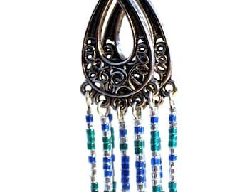 Chandelier Earrings - b/g/s