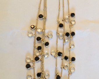 Anne Kline multi jewelled necklace # 182