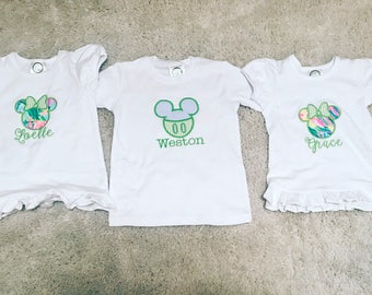 Baby toddler childrens lilly disney outfits . Lots of other colors and options. 6m to size 10
