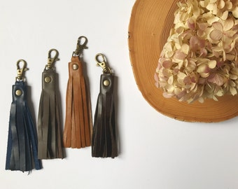 Stacy Leather Tassel
