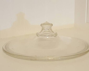 Vintage Pyrex Glass Lid 623-C