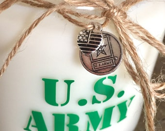U.S. Army Soy Candle - Natural Soy Wax & Essential Oils