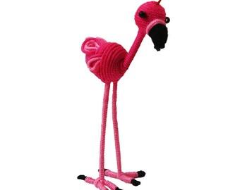 Yarn Flamingo Ornament - Colombia