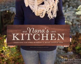 Nana\'s kitchen | Etsy