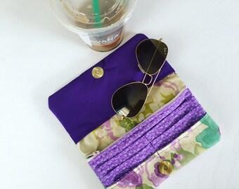 Clutch Wallet - Violet