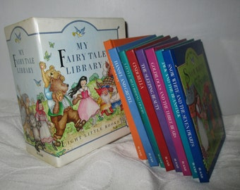 My Fairy Tale Library Set Collection of Eight Fairy Tale Books  By Blackie (1991)