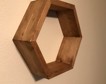 Hexagon Shelves,honeycomb shelves, home and living , wall decor