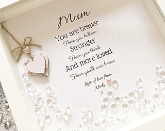 Gift for Mother's Day, gift for her - gift for nan, meaningful quote frame, Mother's Day frame, gift for mum, Mother's Day gift,