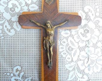 Vintage French Crucifix (C4)