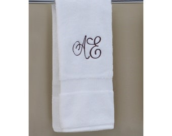 100 % USA Grown | 1 Organic Hand Towel | Monogram Towels | Personalized Orders | Gift Ideas | Decorative | Luxury Towels | Soft & Durable