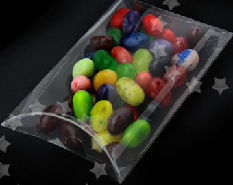 25 Pcs Clear Plastic Gift Box - Wedding Favor - Baby Shower - Favor Box