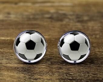 Soccer cufflinks, Football cufflinks, Football accessories